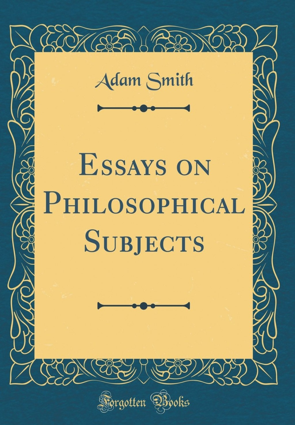007 Rddwarl Essays On Philosophical Subjects Essay Best Smith Pdf Large