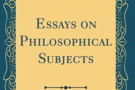 007 Rddwarl Essays On Philosophical Subjects Essay Best Smith Pdf