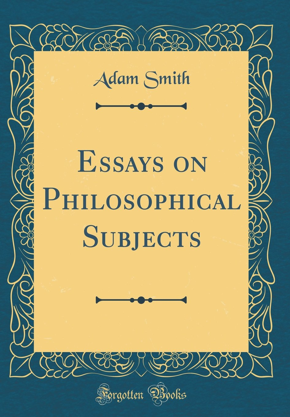 007 Rddwarl Essays On Philosophical Subjects Essay Best Summary Adam Smith Full