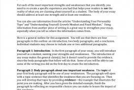 007 Samples Of Formal Essays Free Pdf Format Download My Strengths And Weaknesses In Writing Essay Student Profile Sa Impressive Examples Mba For Introduction