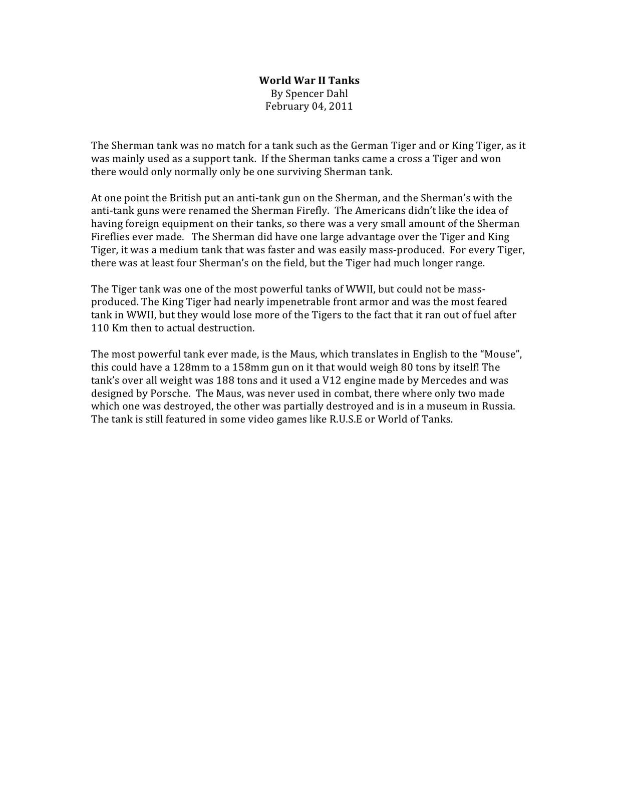 007 Short Essay World2bwar2bii2btanks Shocking Answer Rubric Apush About Slavery In America Questions Internal Medicine Full