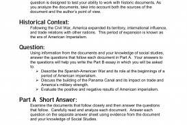 007 Spanish American War Essay Awful Causes And Effects Topics Questions