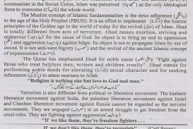 007 Terrorism Essay English On War Again Writing Topic Wonderful Topics In