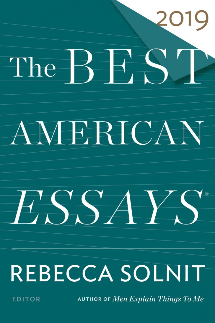 007 The Best American Essays Essay Wonderful 2013 Pdf Download Of Century Sparknotes 2017 728