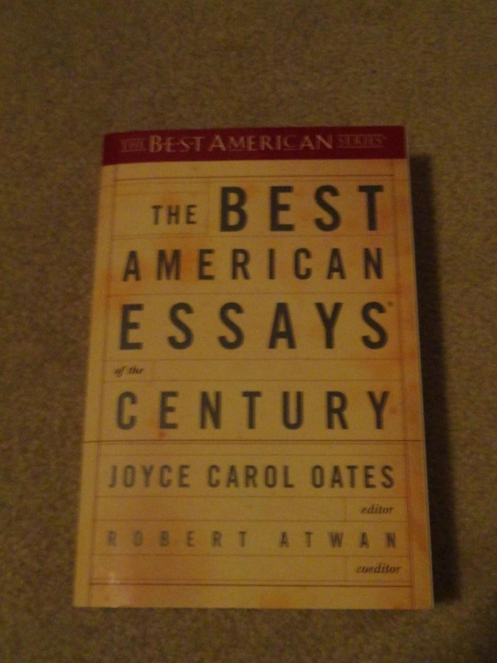 007 The Best American Essays Of Century Essay Example 1 997b8cd7358e6230fa01ed6b061067a8 Imposing Contents Summaries Large