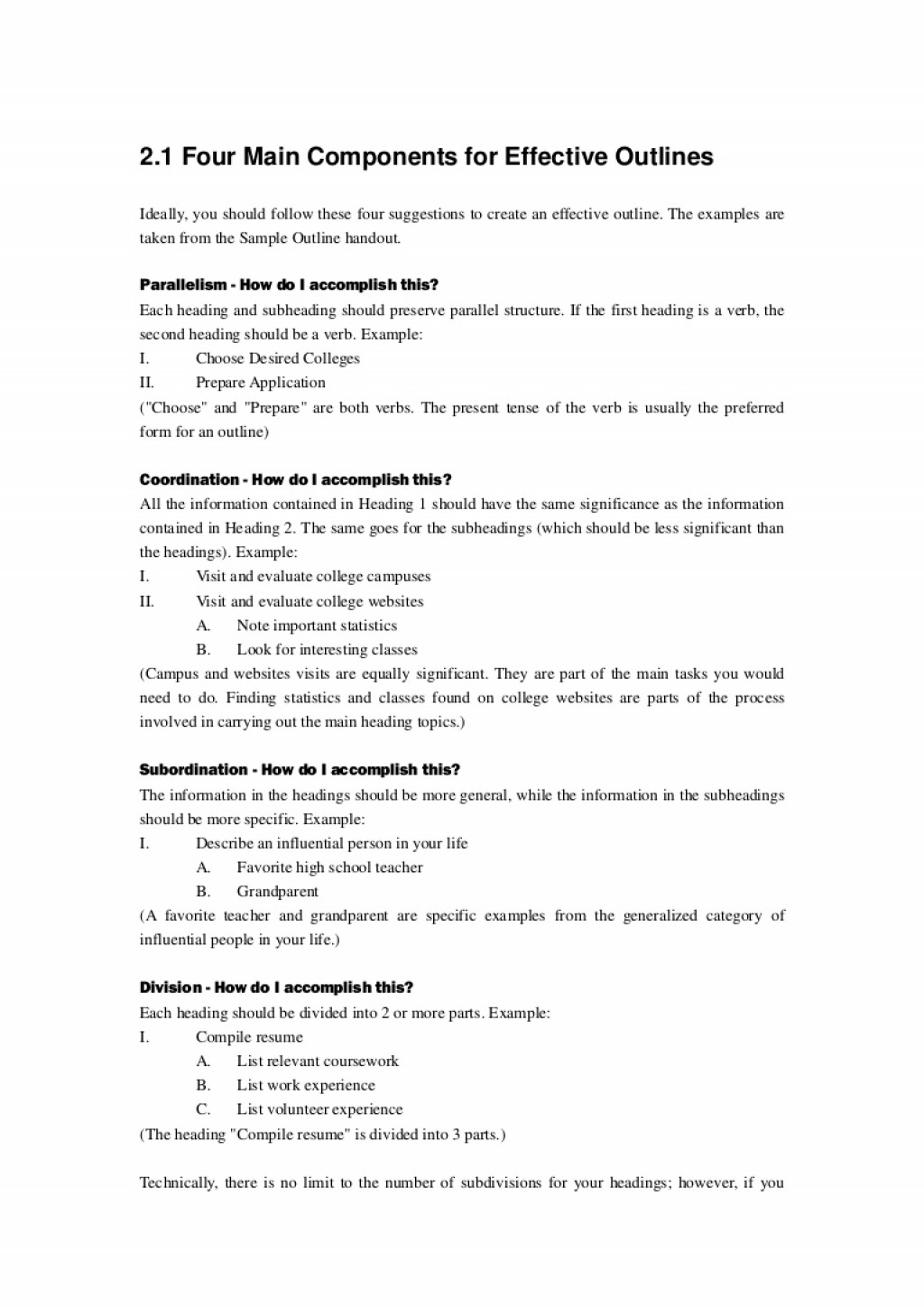 007 Thumbnail Essay Example How To Do An Outline Astounding For A Simple Mla Format Sample Large