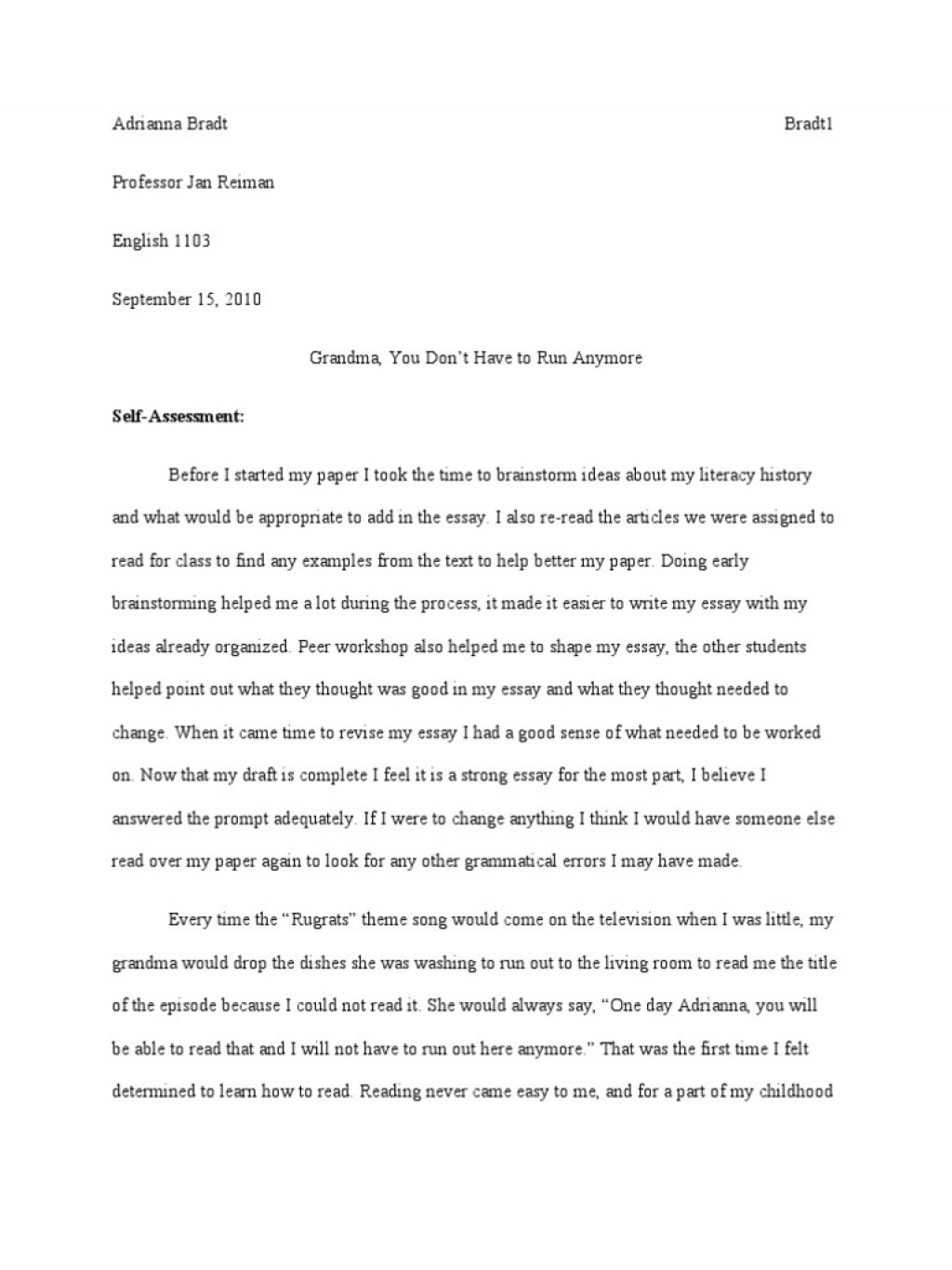007 Trends Of Literacy Narrative Essays Essay Phenomenal Example Personal Examples Sample Digital Large