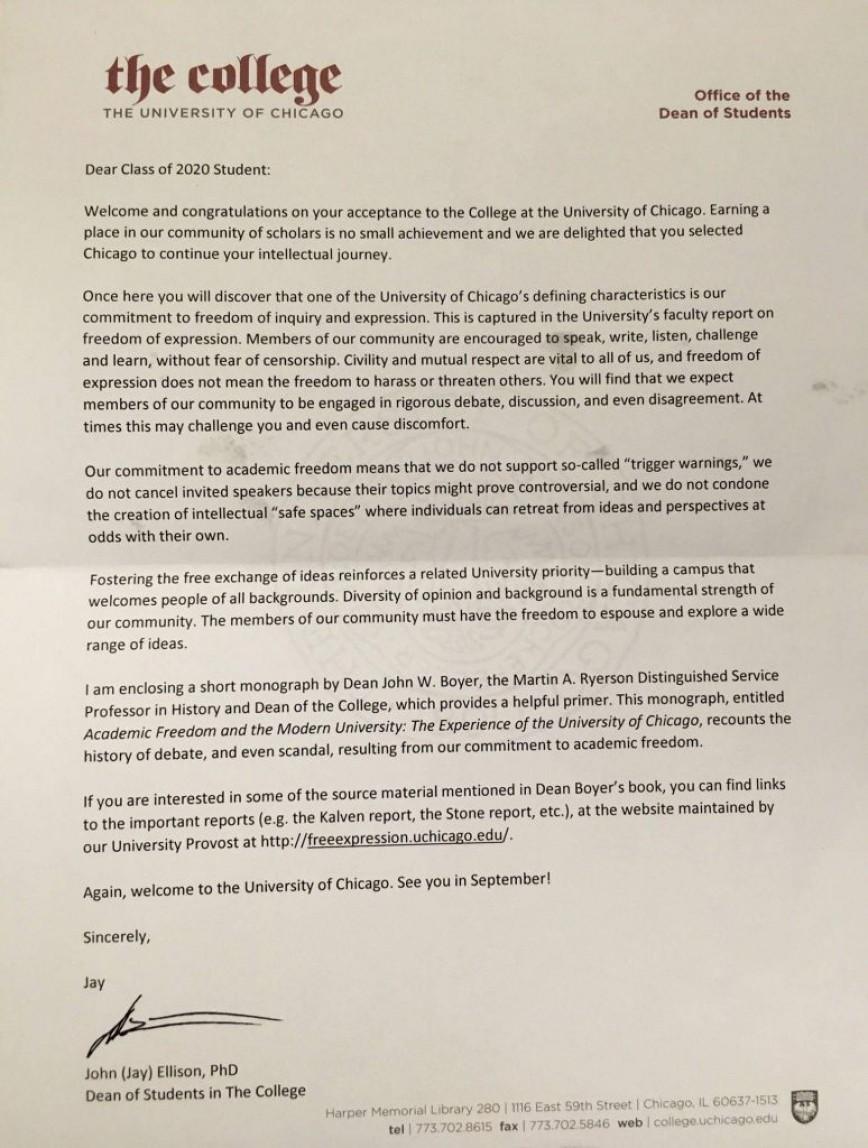 007 University Of Chicago Essay Prompts Example Uchicago Striking Weird Loyola Prompt 2014 868
