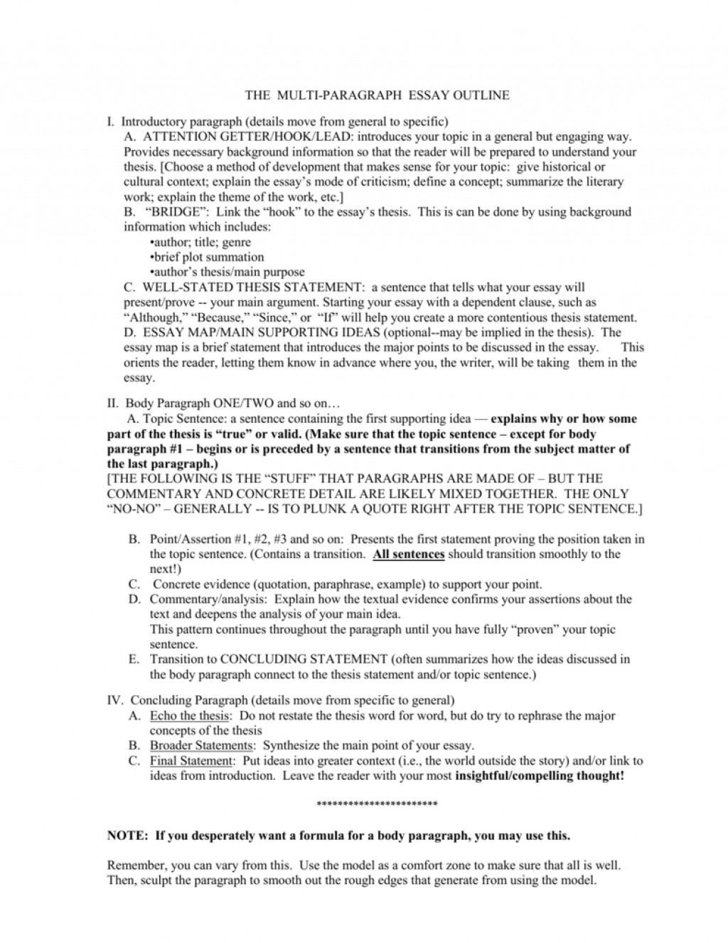 008 009020709 1 Essay Example Multi Best Paragraph Graphic Organizer Format Large