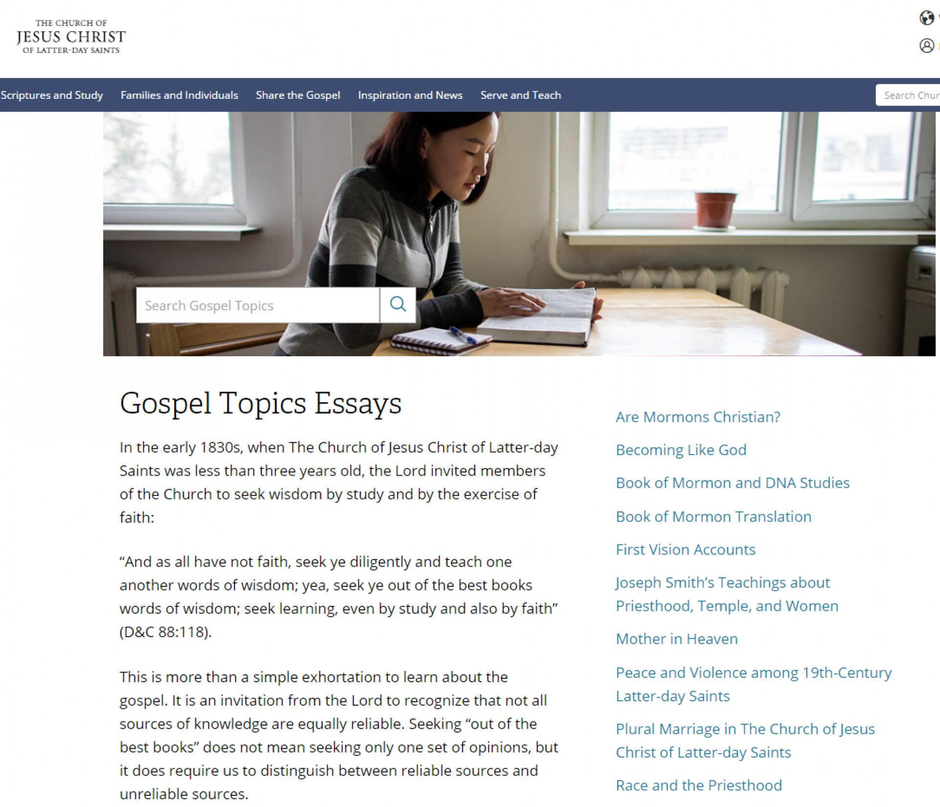 008 23 0556 Essay Example Gospel Topics Outstanding Essays Pdf Plural Marriage Becoming Like God 1920