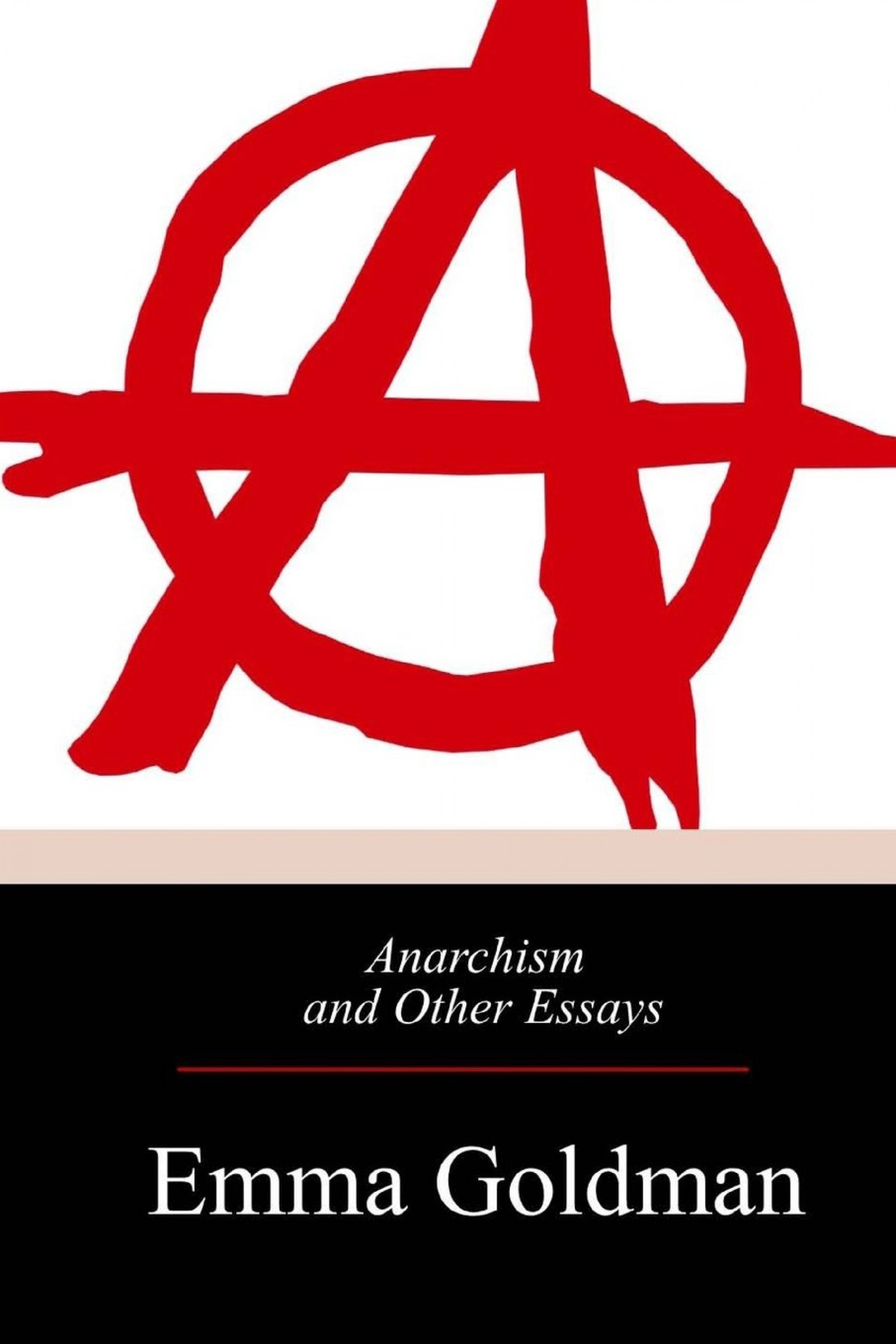 008 610zkhxxiil Essay Example Anarchism And Other Incredible Essays Emma Goldman Summary Mla Citation 1920
