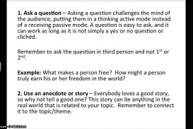 008 Attention Grabbers For Essays Essay Example Examples Unbelievable Argumentative