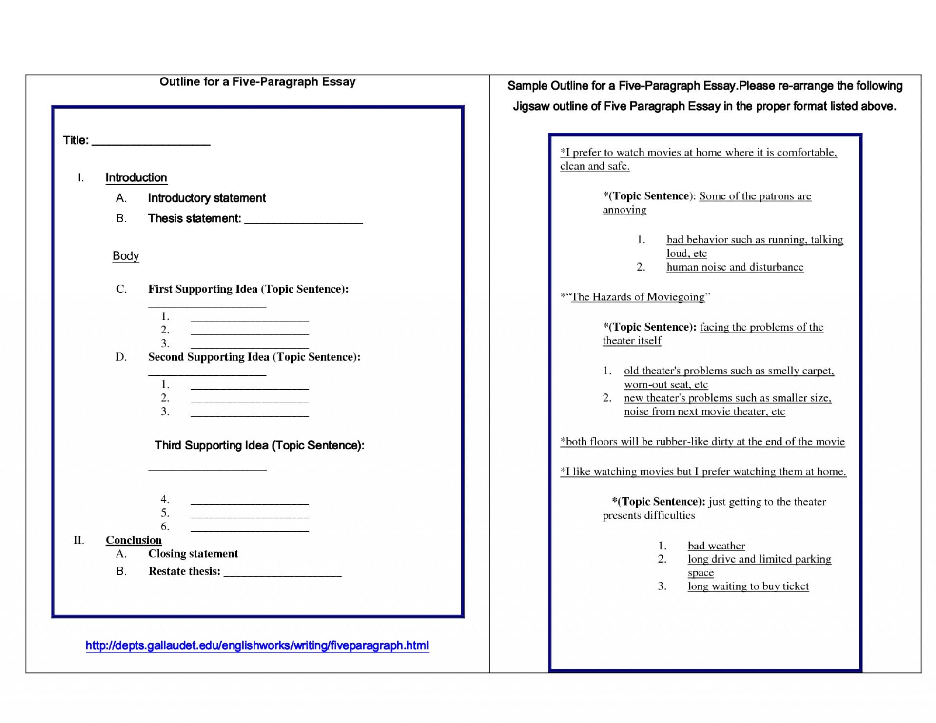 008 Bunch Ideas Of Paragraph Essay Outline Persuasive Template Az Unique And Example Five Stirring Format Teaching Argumentative 1920