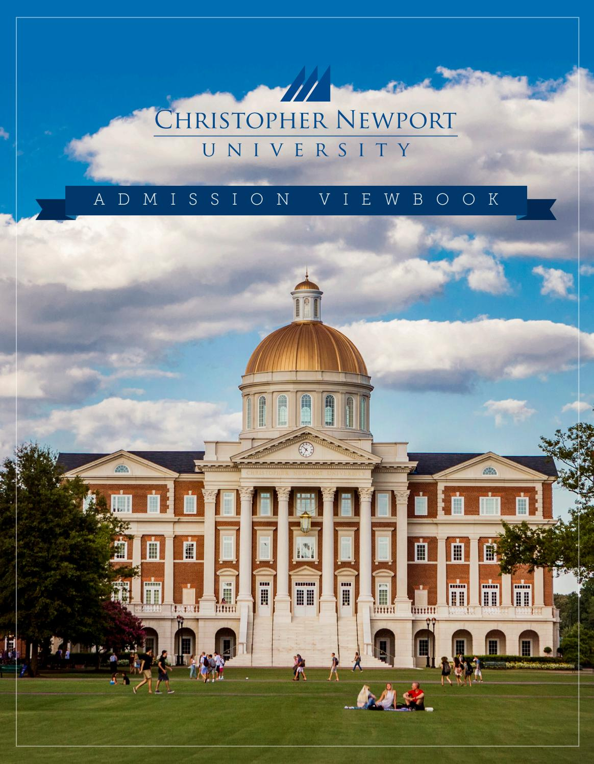 008 Christopher Newport University Application Essay Example Page 1 Unusual Full