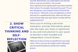 008 Common App Brainstormprompt Essay Example Unusual Prompt Prompts Usc Examples 1 4