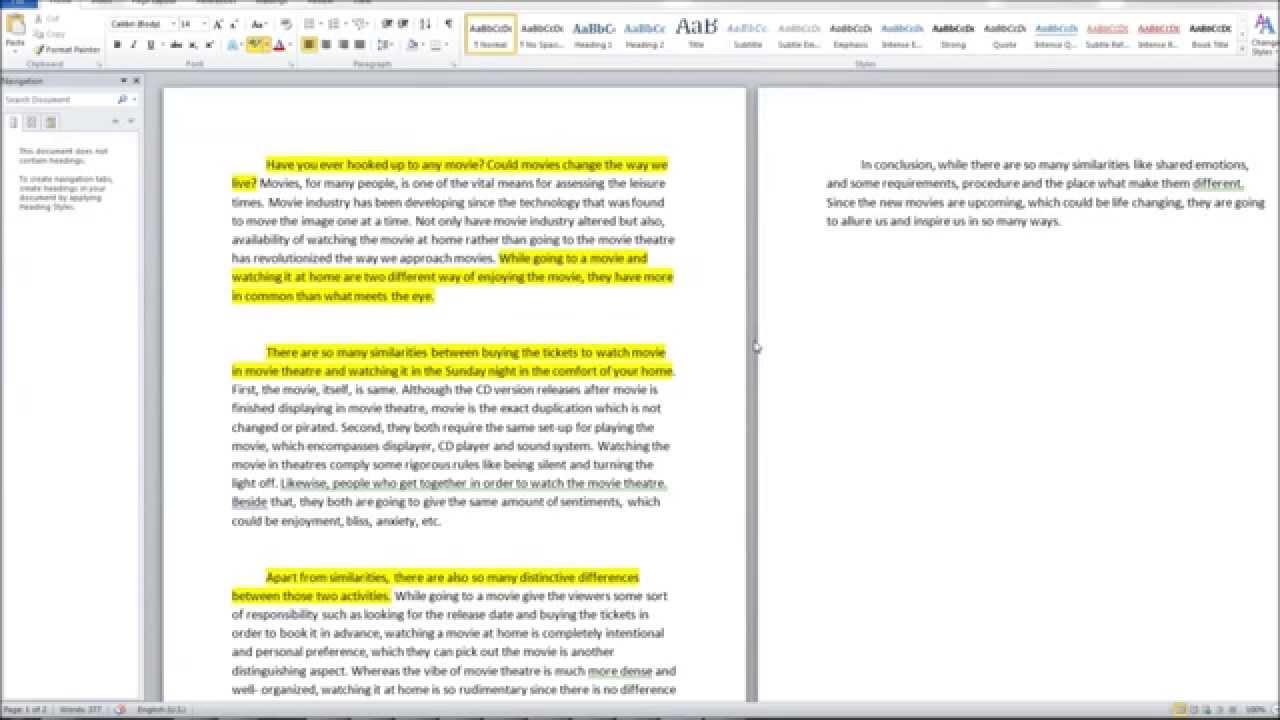 008 Compare Contrast Essay Examples Example Unusual High School Vs College Comparison Pdf And Topics 6th Grade Full