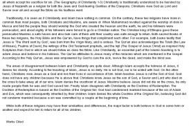 008 Comparecontrast Christanity Vs Islam Essay On Awful Persuasive Islamophobia My City Islamabad In Urdu Religion Hindi
