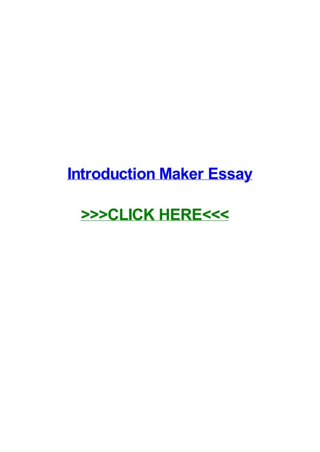 008 Conclusion Maker For Essays Page 1 Essay Staggering Large