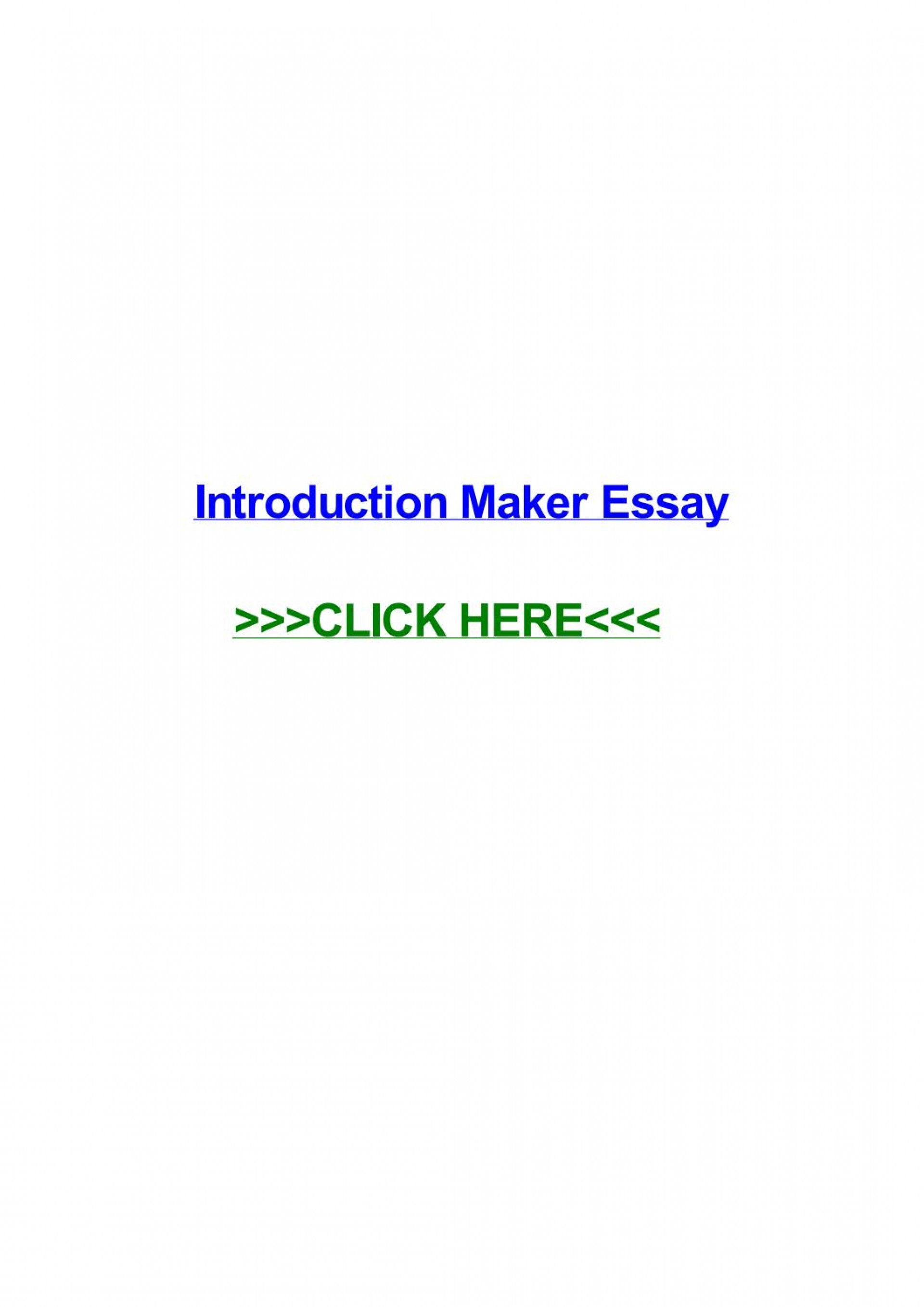 008 Conclusion Maker For Essays Page 1 Essay Staggering 1920