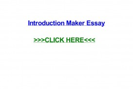 008 Conclusion Maker For Essays Page 1 Essay Staggering