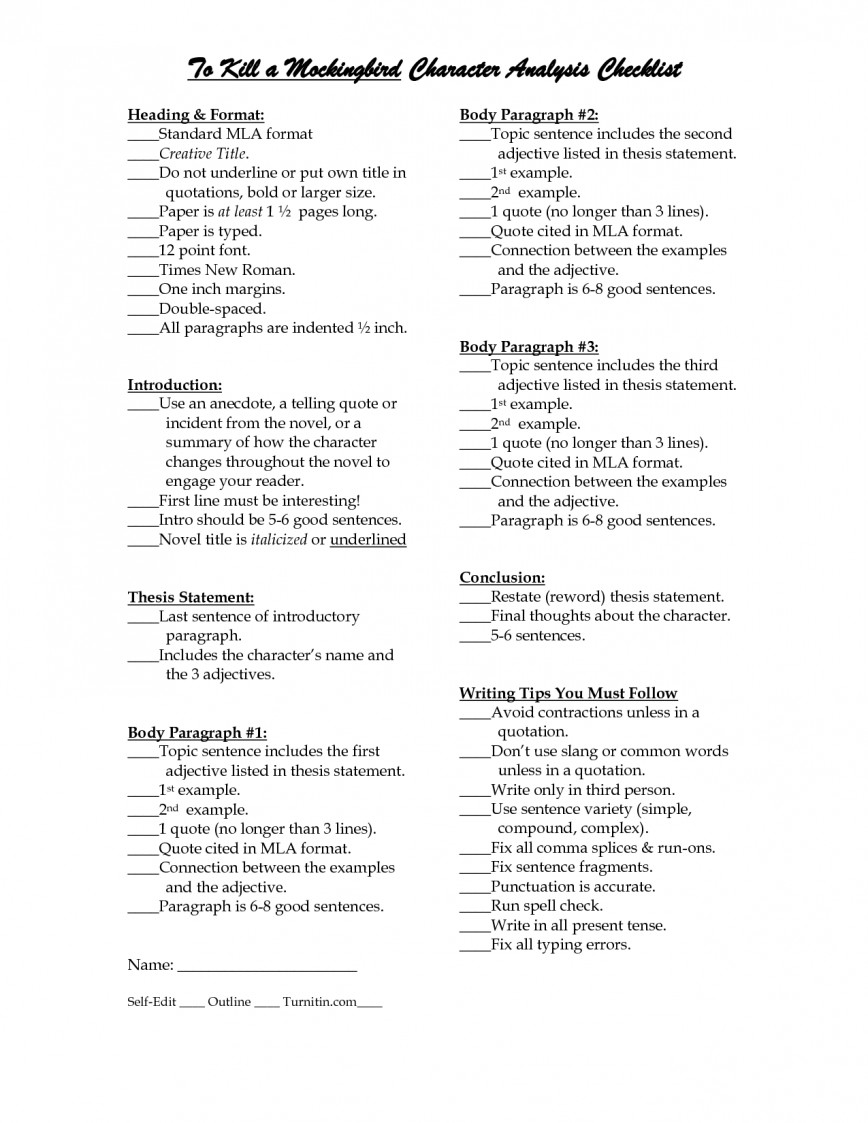 008 Courage Essay Example Fascinating Tkam Titles To Kill A Mockingbird Conclusion