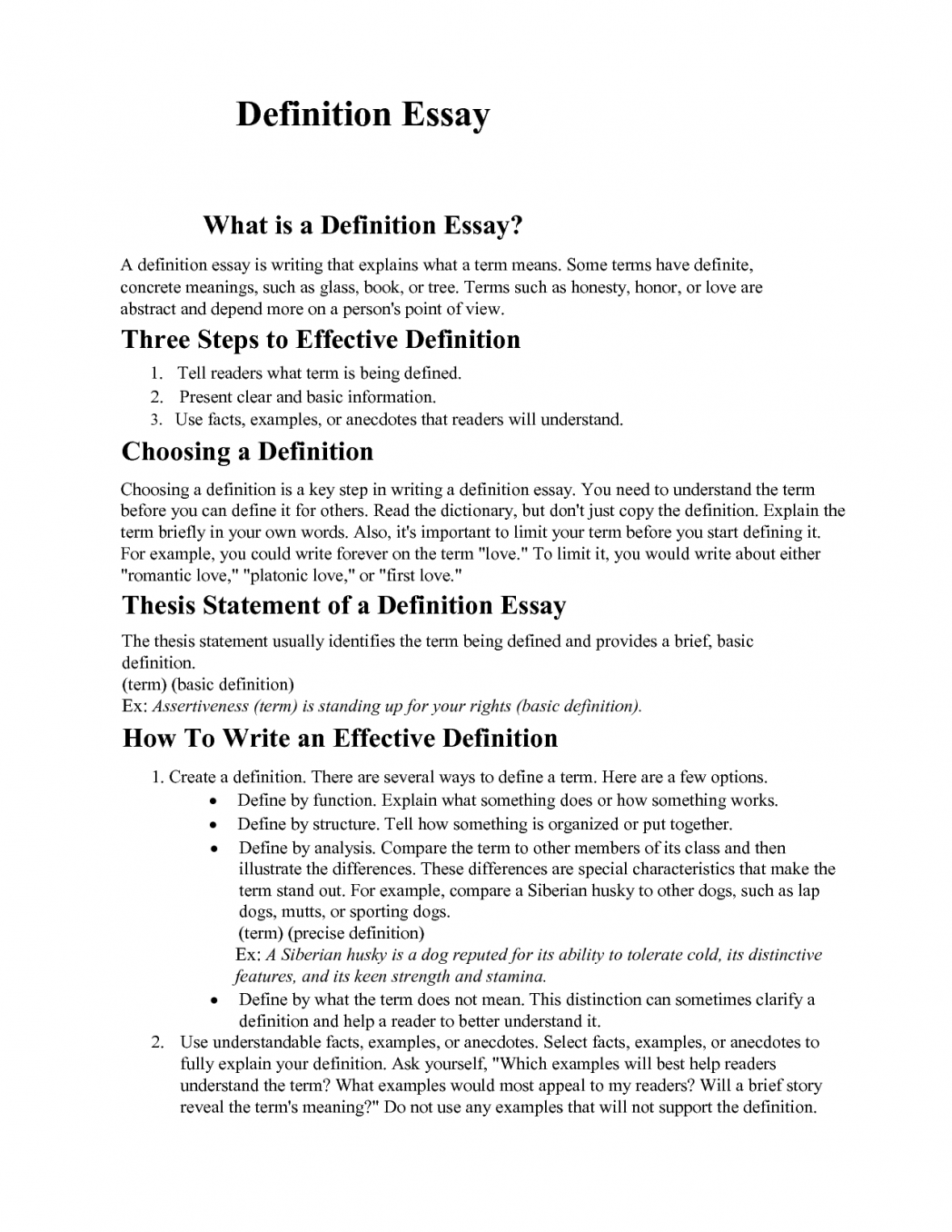 008 Definition Essay Outline Example Examples Friendship Writing Topics For An Define Academic Collection Of Solutions Success Creative And Pdf Argumentative Phenomenal Sample Extended Full
