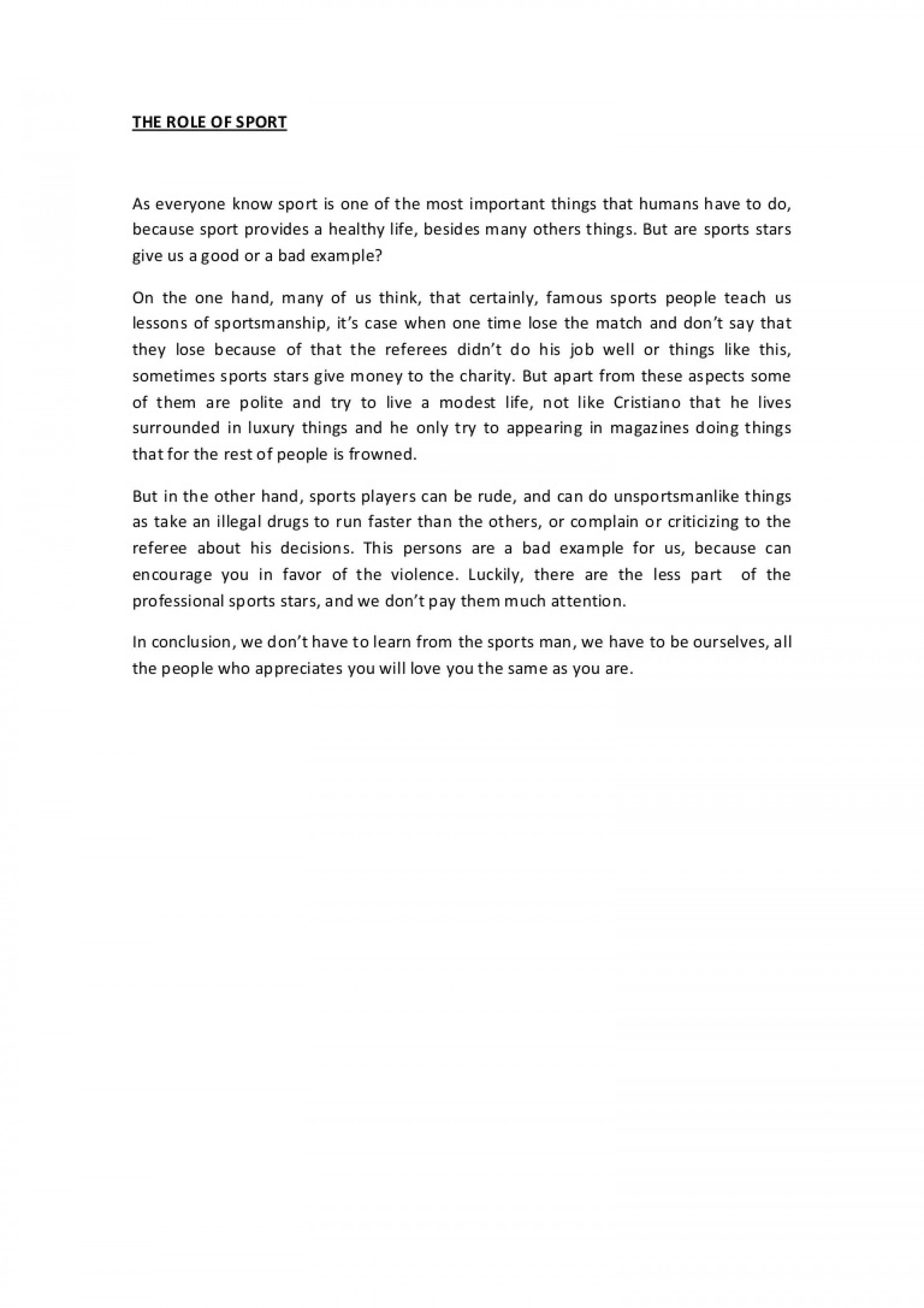 008 Discussionessayaboutsport Phpapp02 Thumbnail Essay Example Why Is It Important To Vote Top Contest 1920