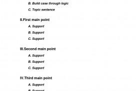 008 Division Essay Outline L Of An Sensational Argumentative Sample Co Education Pdf