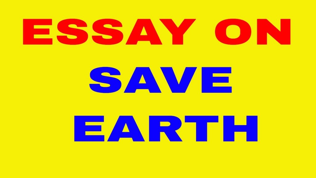 008 Earth Essay Example Marvelous Day In English Pt3 If Could Speak Marathi On Mother For Class 3 Large