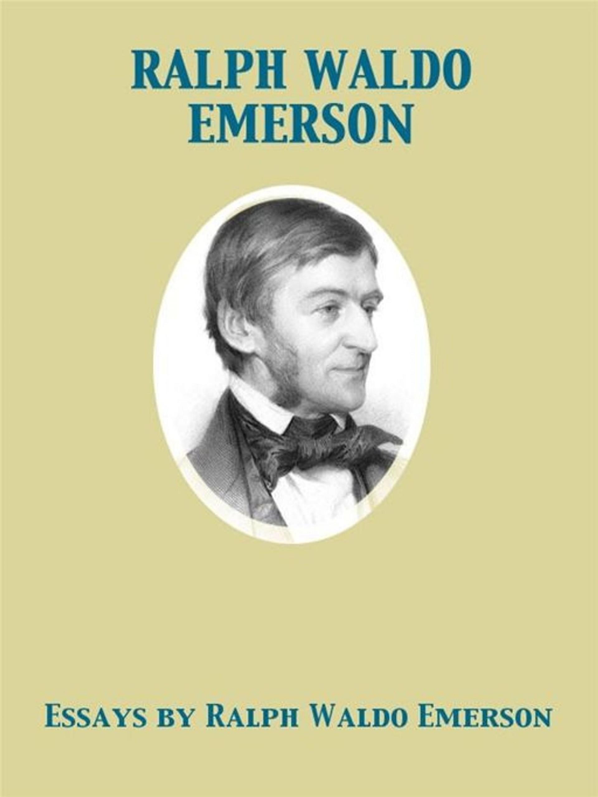 008 Emerson Essays By Ralph Waldo Essay Dreaded Pdf First Series Summary Nature 1920