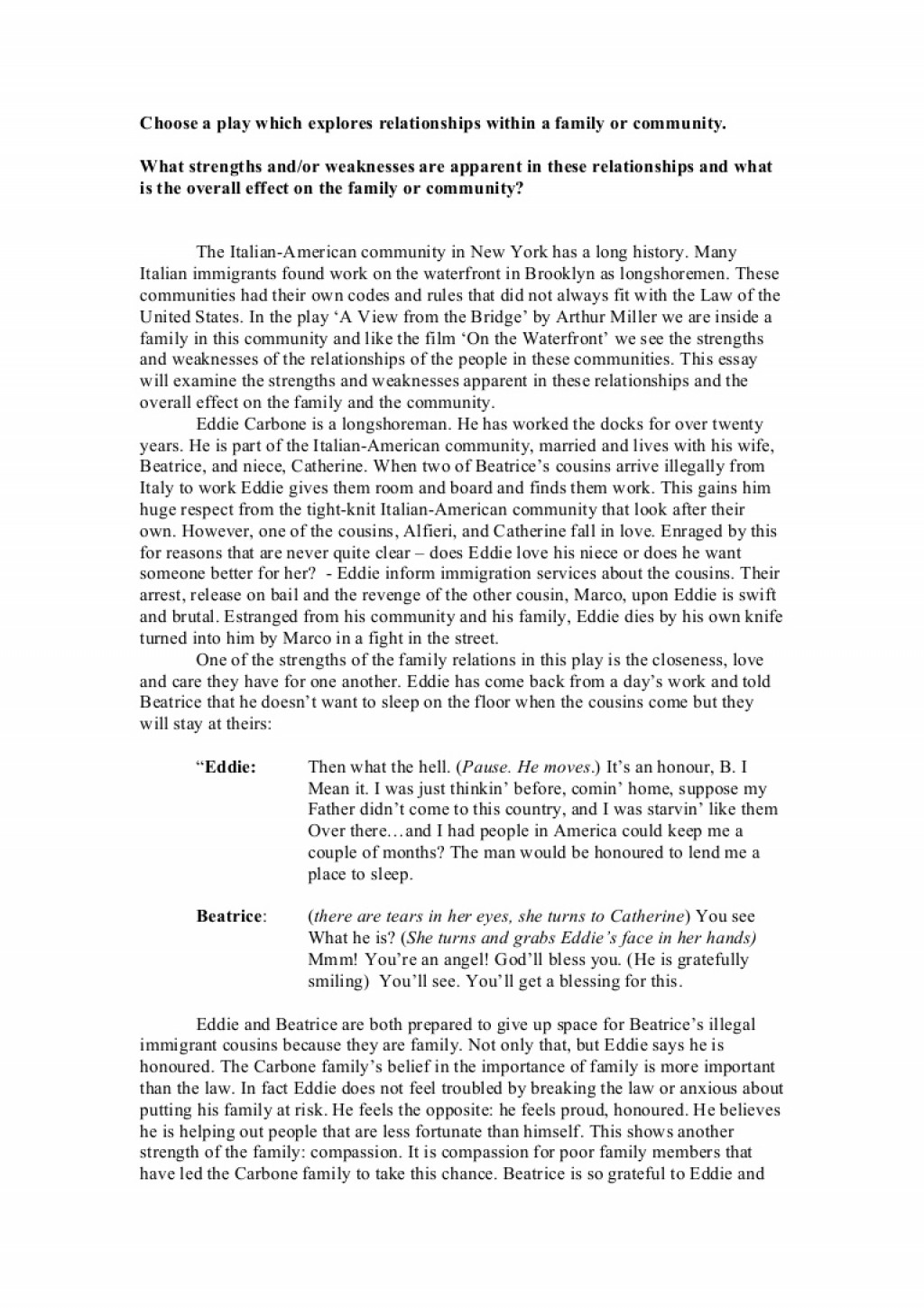 008 Essay Examiningthestrengthsandweaknessesinthefamilyandcommunity Phpapp02 Thumbnail Example Persuasive About Stunning Bullying Topics On In Schools Introduction Tagalog Large