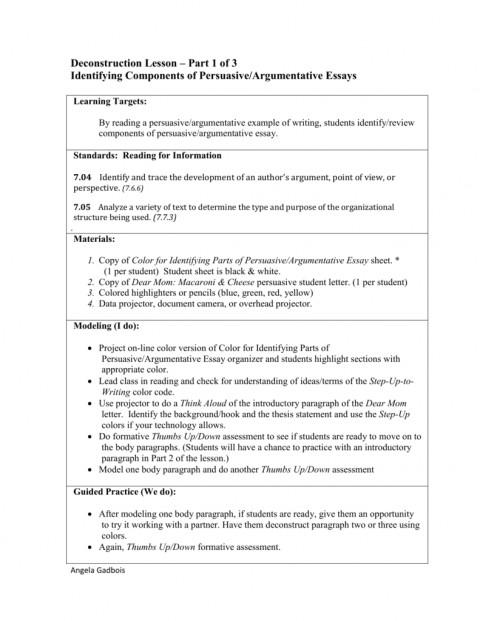 008 Essay Example 008053854 1 Parts Of Imposing 6 A Persuasive 480