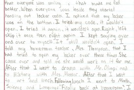 008 Essay Example 4th Grade Topics Incredible Narrative Expository