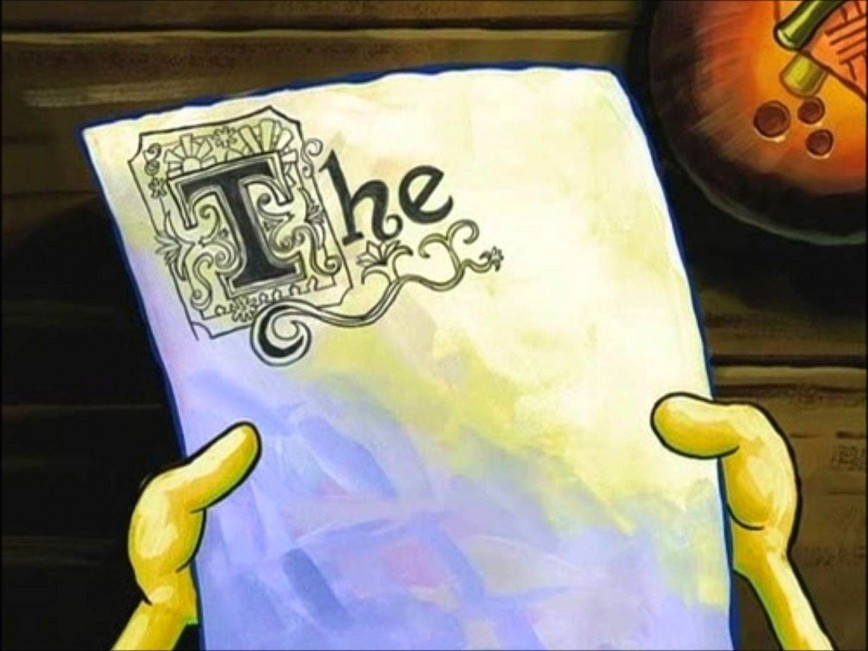 008 Essay Example Surprising Spongebob Font Meme House 868