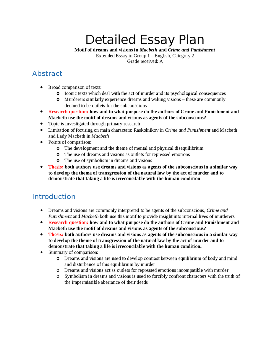 008 Essay Example About Dreams Crime Essays Law Help Of Juvenile Argumentative Abortion Should Permitted Extended Plan  And Visions In Macbeth P Stirring Aspirations Life Goals Come TrueFull