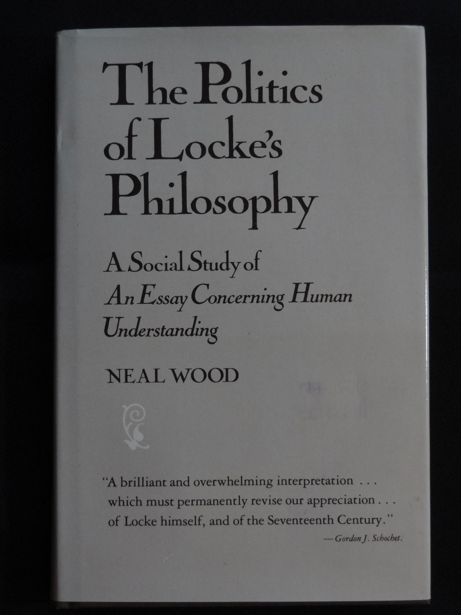 008 Essay Example An Concerning Human Understanding Stunning Book 2 Chapter 27 Summary Locke Analysis John Tabula Rasa 1920