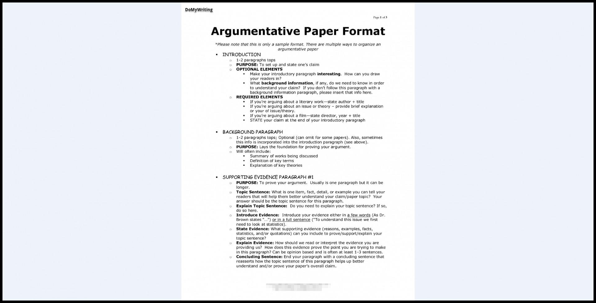 008 Essay Example Argumentative Best Format Outline Template Doc Mla 1920