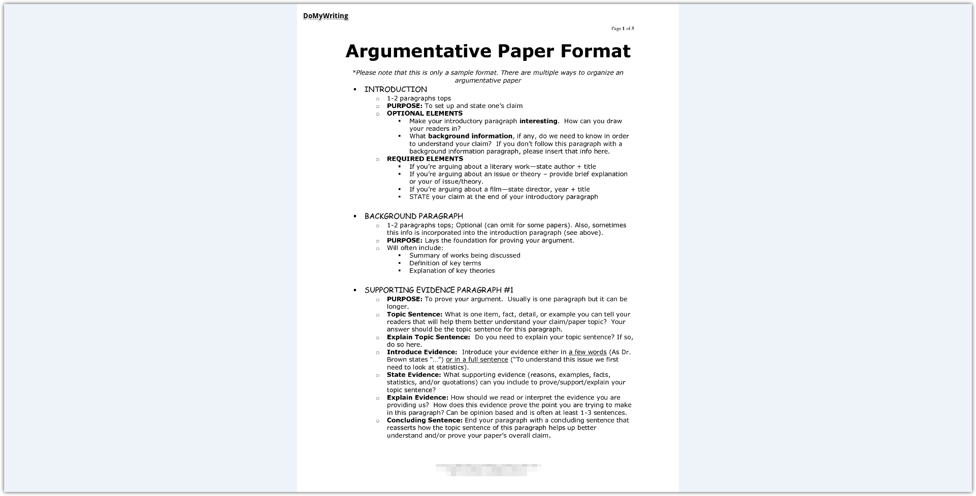 008 Essay Example Argumentative Best Format Outline Template Doc Mla Full
