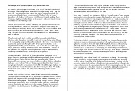 008 Essay Example Autobiographical Sample Unforgettable Biography About Myself Elementary Self