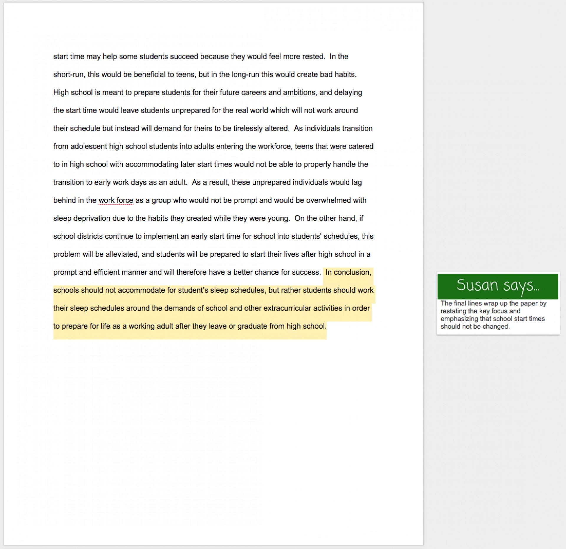 008 Essay Example Conclusion Sentence Examples For Archaicawful Essays College 1920
