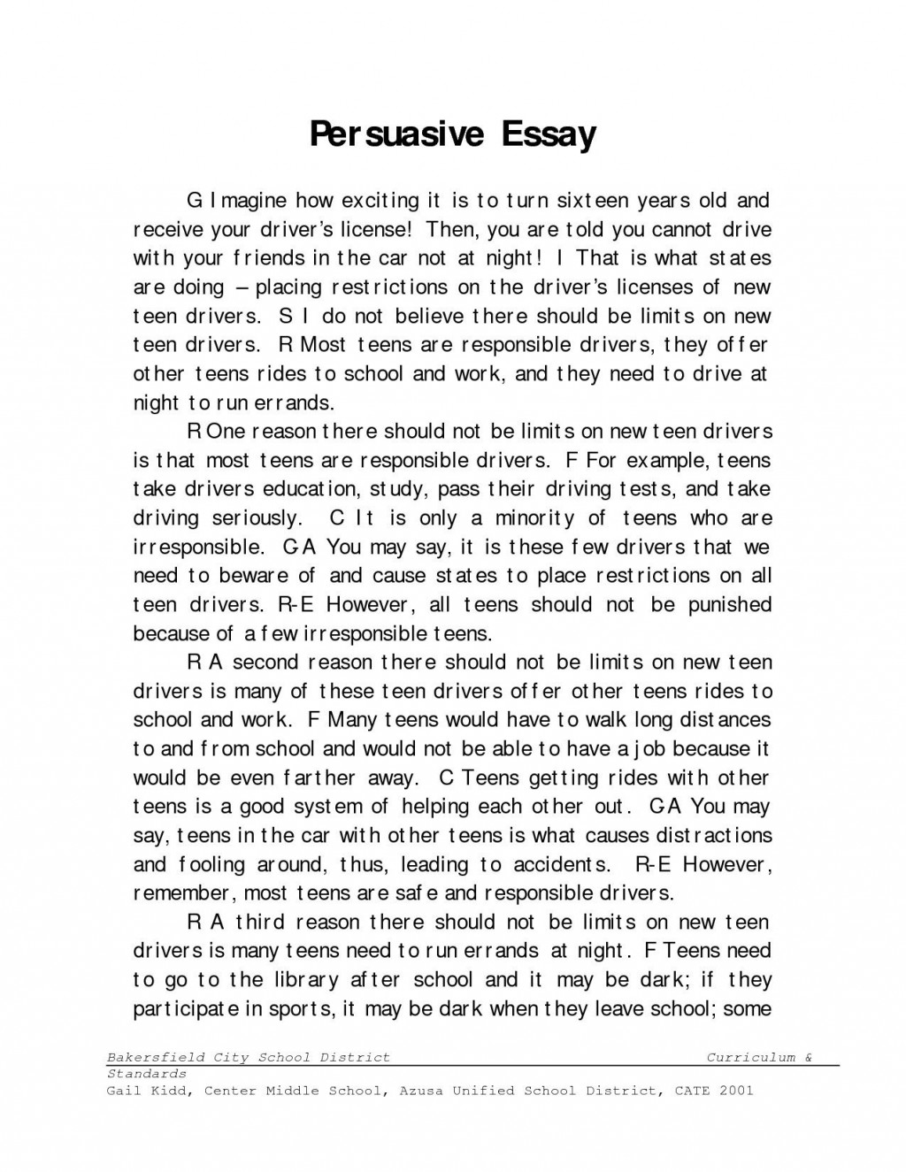 008 Essay Example Define Fascinating Narrative Literacy Nonfiction Large