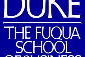 008 Essay Example Duke Essays Fuqua Logo Wondrous Mba 2018