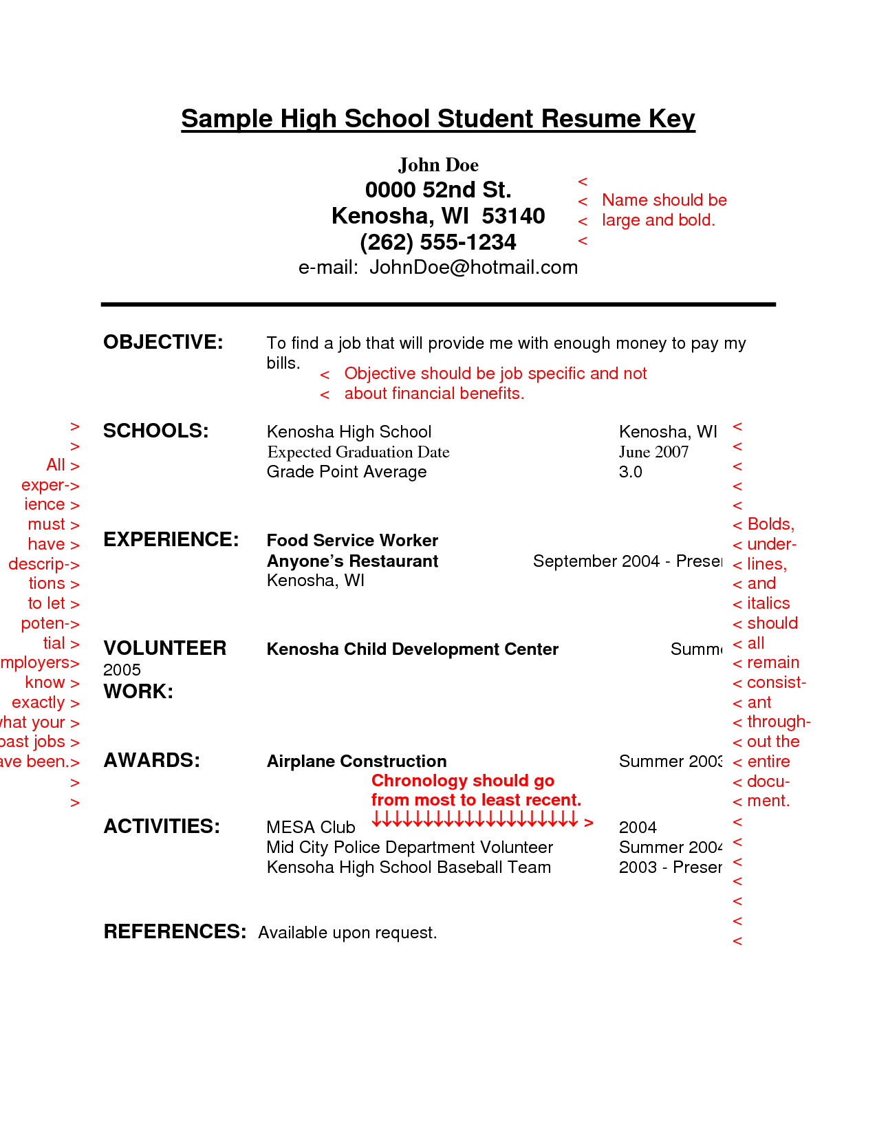 008 Essay Example High School Unforgettable Experience Junior Year My Examples Senior Full