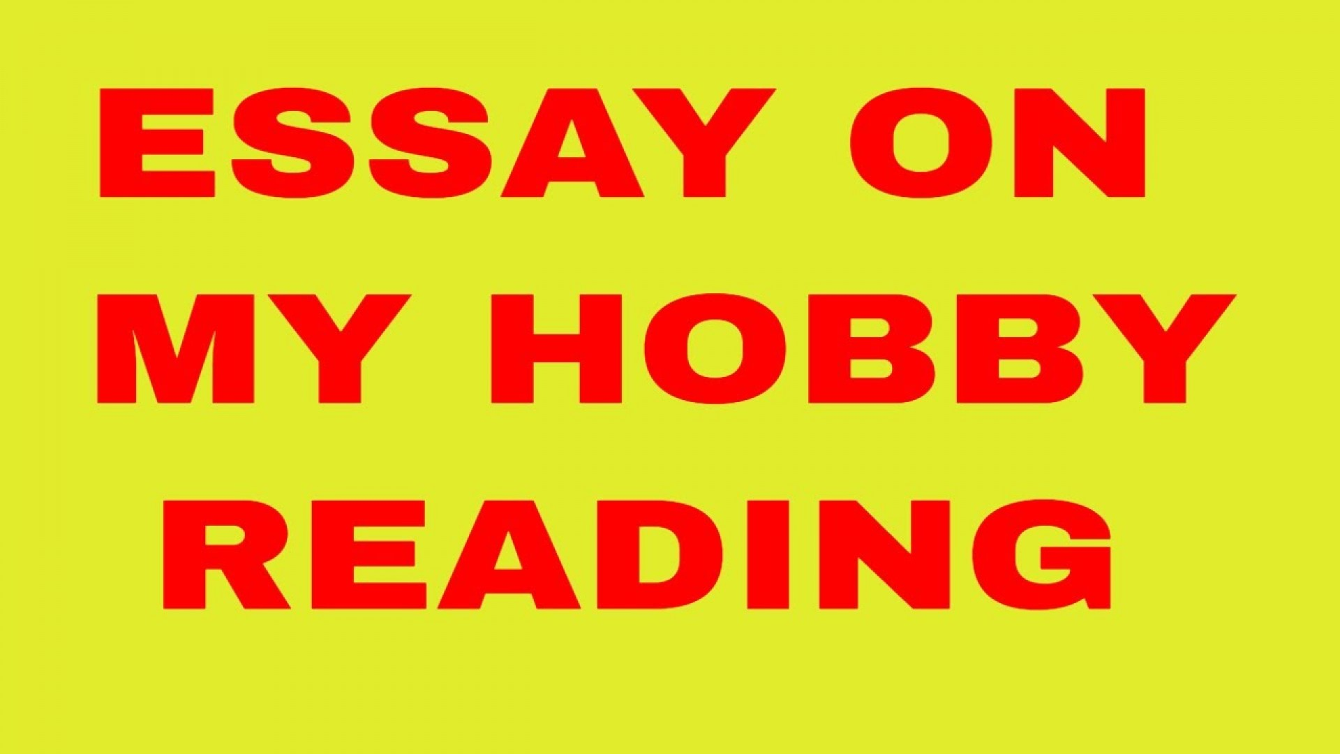 008 Essay Example Hobby Incredible Pt3 My For Class 2 In Urdu Favourite Gardening 1920