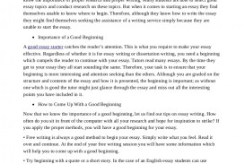 008 Essay Example Homeworkhelpforstudents Thumbnail Good Staggering Beginnings Introduction Examples Words Intros