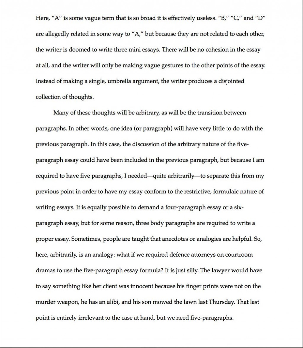 008 Essay Example How Many Paragraphs Are In Formidable A Argumentative Thematic Synthesis Large