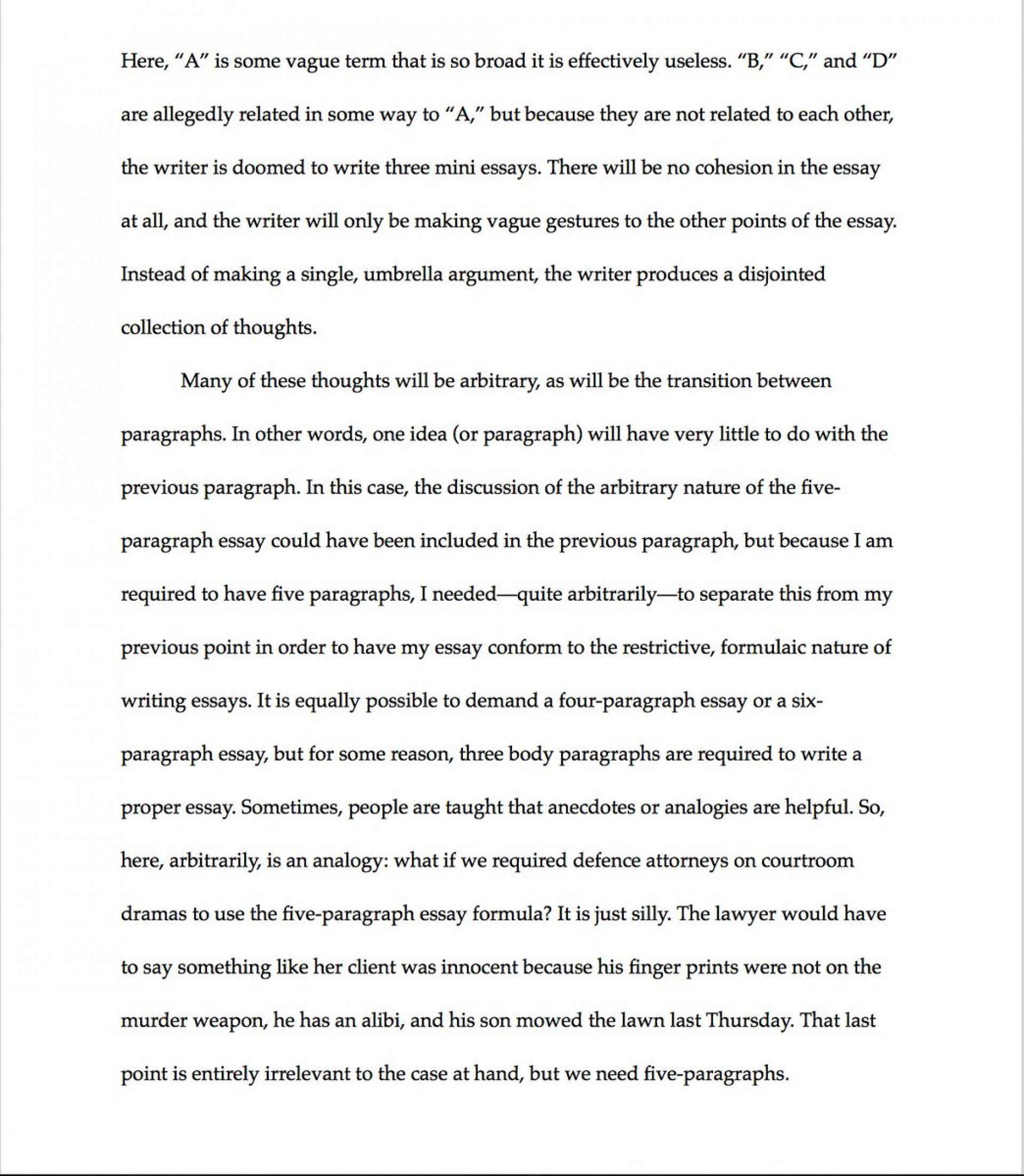 008 Essay Example How Many Paragraphs Are In Formidable A Argumentative Body Should Narrative Have Persuasive 1920