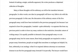 008 Essay Example How Many Paragraphs Are In Formidable A Argumentative Narrative