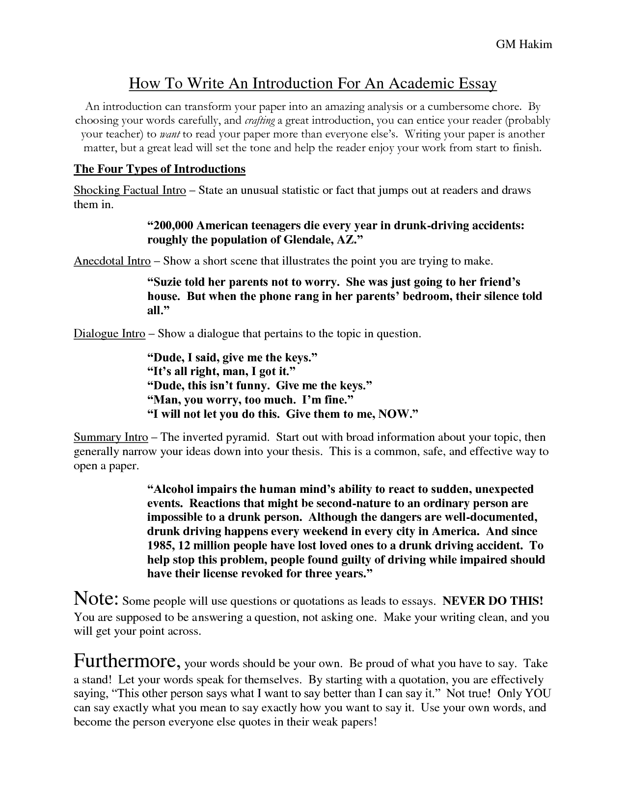 008 Essay Example How Write Introduction 690833 Dreaded A An About Yourself In Spanish Full