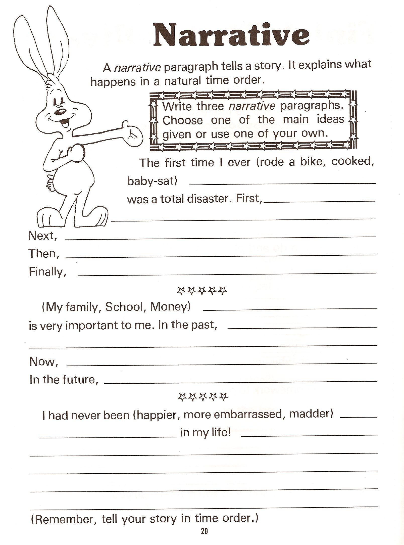 008 Essay Example Ideas For Narrative Beautiful A Fictional Writing Personal Descriptive Full